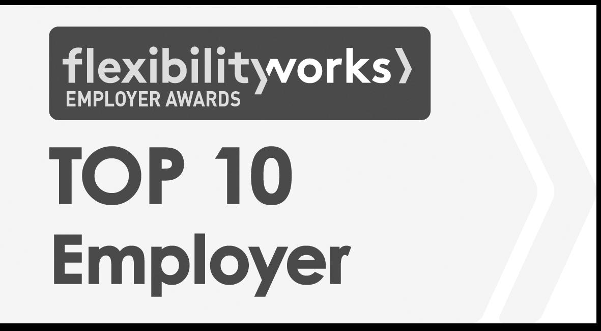 Top 10 Flexible Employer
