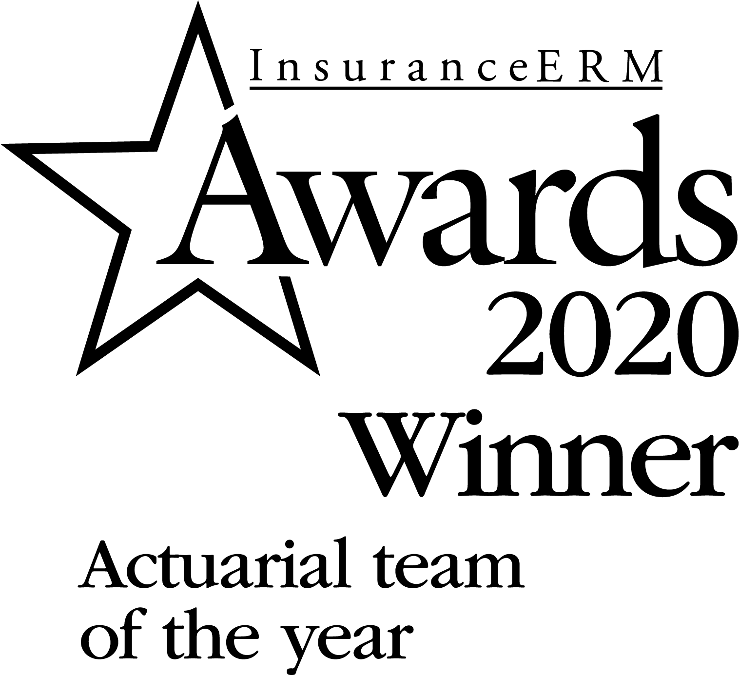 Actuarial team of the year 2020